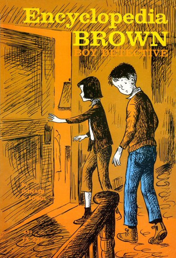 Encyclopedia Brown Boy Detective Book Cover