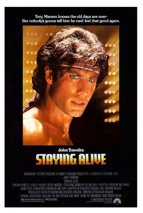 Travolta Staying Alive