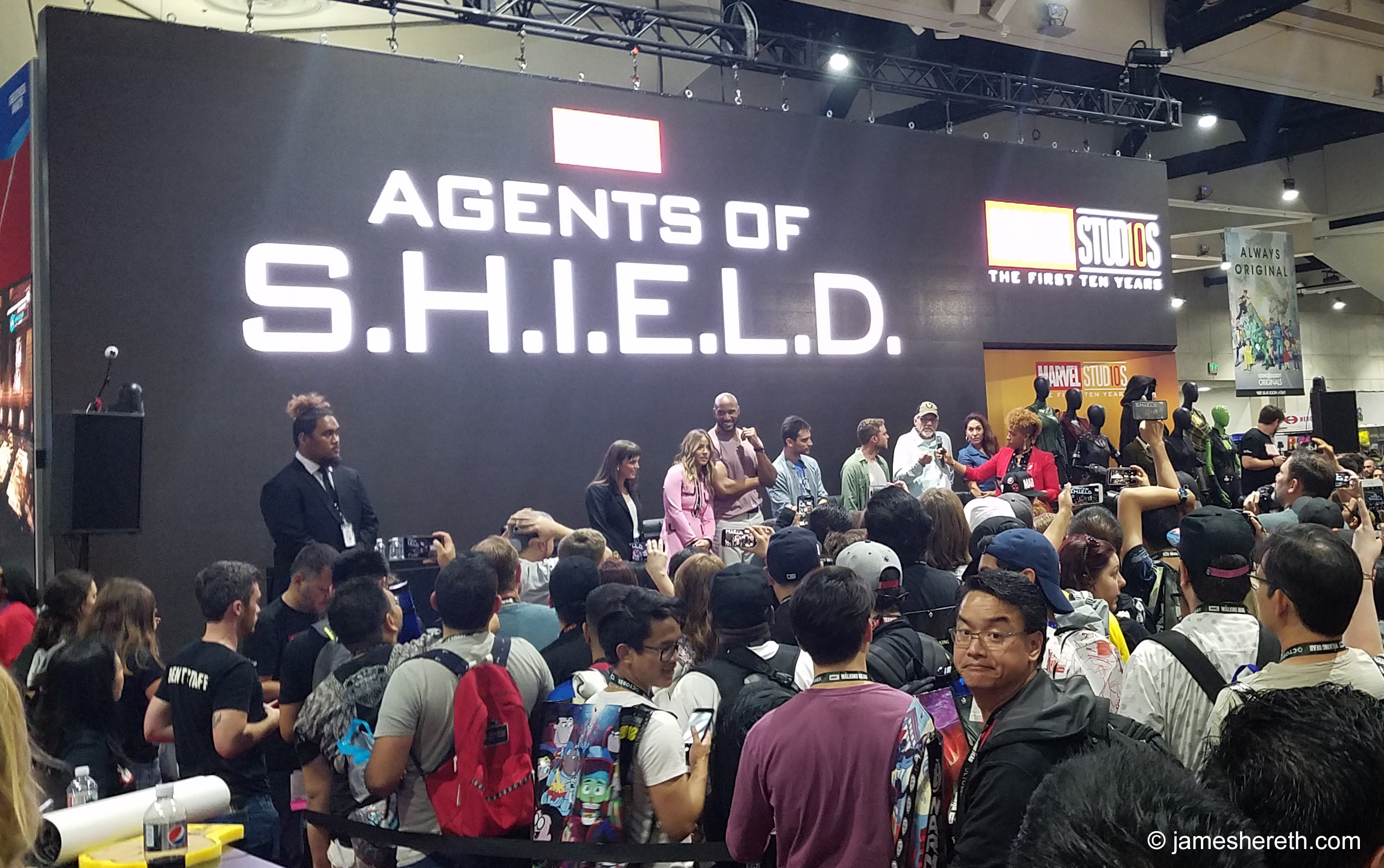 Agents of S.H.I.E.L.D. Panel SDCC 2018