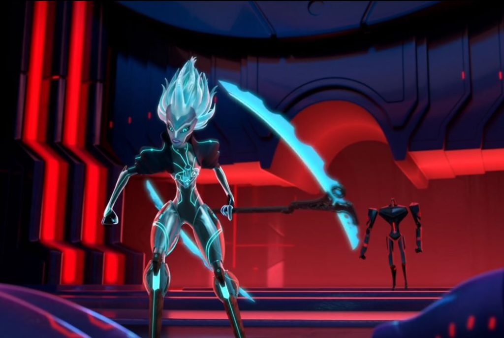 Zadra (Hayley Atwell) in 3Below: Tales of Arcadia
