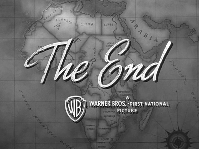 The End Graphic from Casablanca