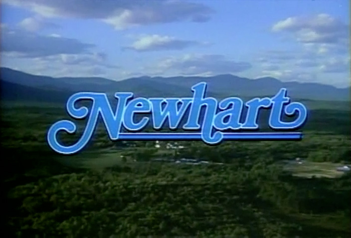 Newhart Main title Graphic