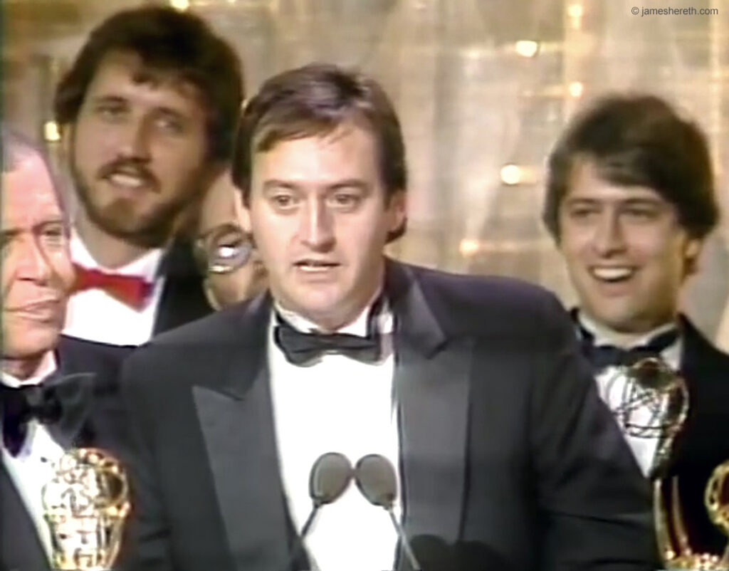 The 1982 Emmy for Outstanding Writing in a Variety or Music Program goes to SCTV