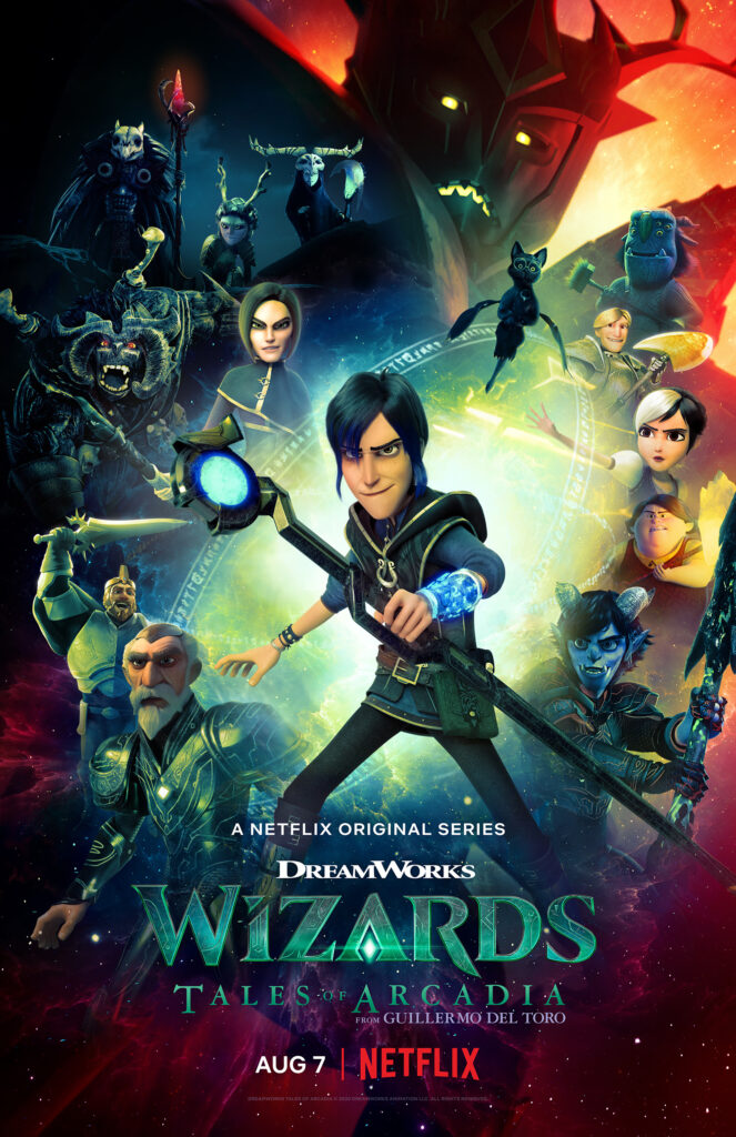 DreamWorks Wizards: Tales of Arcadia Poster
