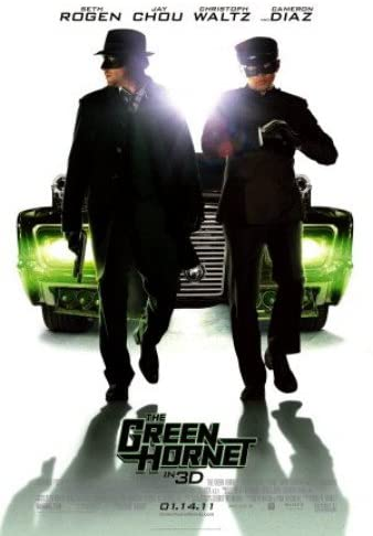 "Movie Poster for ""The Green Hornet"" (2011)."