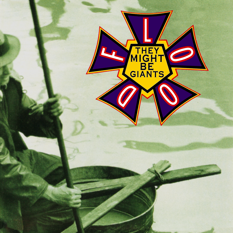Flood Album Cover (1990) - They Might Be Giants