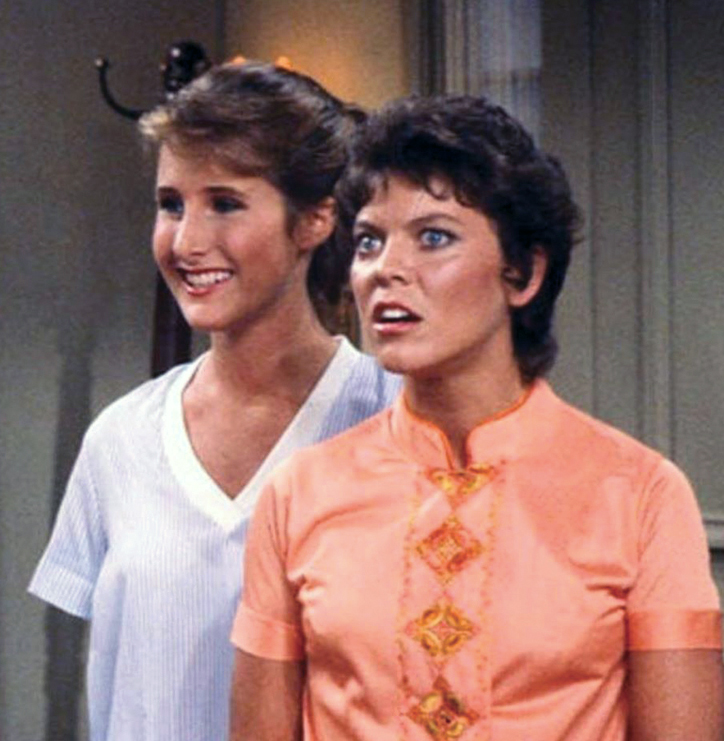 """Jenny Piccolo and Joanie Cunningham on """"Happy Days"""""""