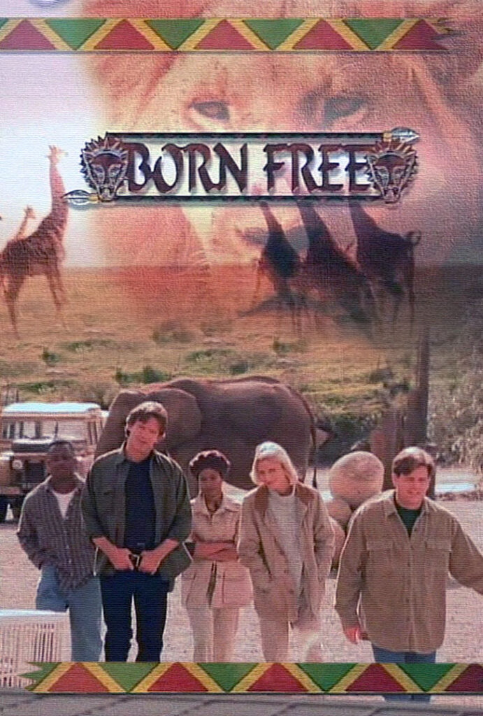 """Artwork for the syndicated series, """"Born Free"""" (1998)"""